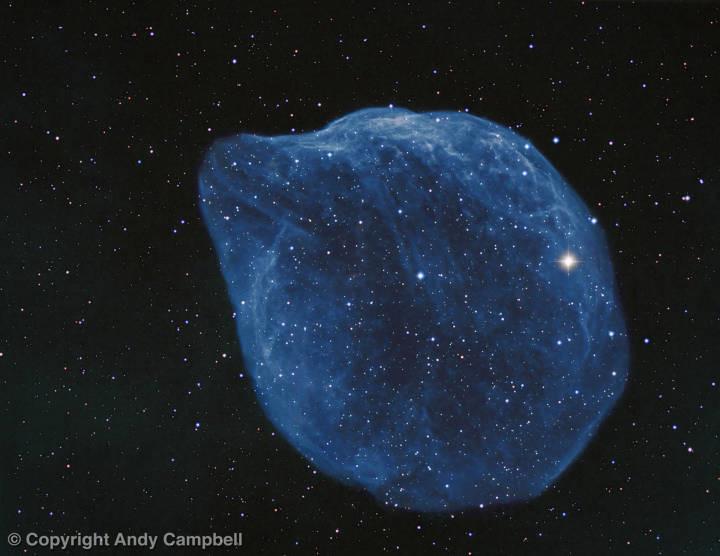 Sh2-308 Nebula astrophotography wolf-rayet star image
