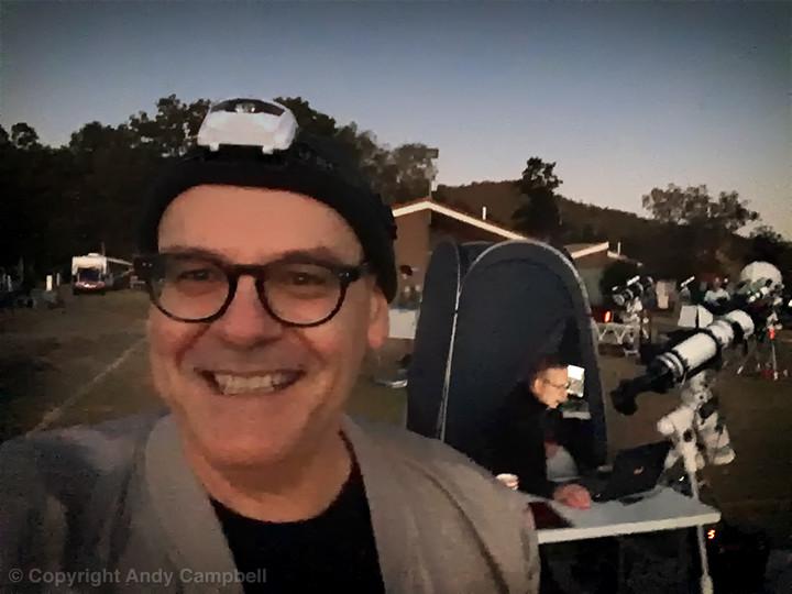 Andy at Queensland Astrofest 2019